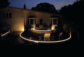 low voltage strip lighting outdoor led deck lighting ideas waterproof led landscape lighting led deck