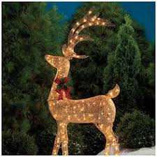 big lots christmas decorations lighted holographic deer with sleigh 3 set at big lots
