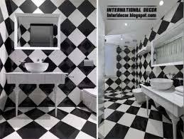 black and white bathroom tile design ideas interior design 2014 black tiles for bathroom and toilet