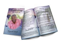 funeral program custom design your funeral programs or your memorial programs online