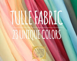 tulle wholesale tulle etsy