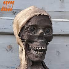 Halloween Skull Decorations Halloween Mummy Realistic Halloween Skull Skeleton Horror Mummy