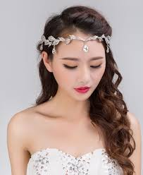prom hair accessories shiny frontlet bridal hair accessories crown forhead