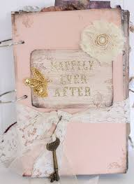 vintage wedding guest book happily after fairytale wedding guestbook fairy tale