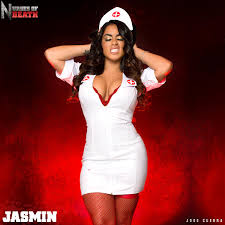 happy halloween jasmin cadavid jasmincadavid stars in nurses