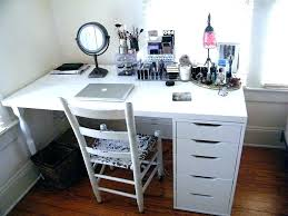 Small Desk Vanity Makeup Desk With Mirror White Vanity Table Jewelry Makeup Desk And