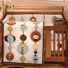 Nojo Crib Bedding Set Best Nursery Bedding Collections And Sets Nojo Jungle Garden