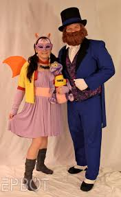 theatrical quality halloween costumes disney extinct attractions journey into your imagination