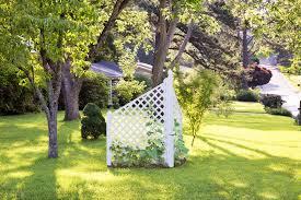Small Trellis Planter Garden Design Garden Design With Top Climbing Plants For A Small