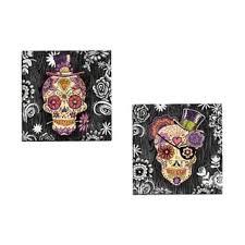Skull Area Rug Mohawk Home Aurora Sugar Skull Area Rug 7 U00276 X 10 U0027 Free