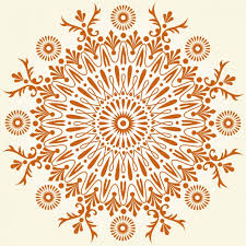 hindu abstract ornament vector free