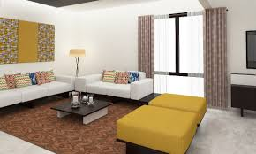buy contemporary fusion living room online in india livspace com