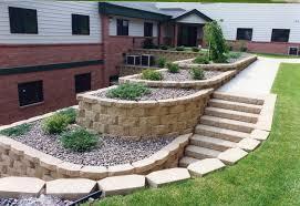 landscape design retaining wall ideas home design ideas