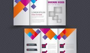 free illustrator brochure templates brochure adobe illustrator brochure design with trifold colorful