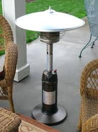 Table Top Patio Heaters Propane Outdoor Tabletop Heaters Powder Coated Bronze Tabletop Propane