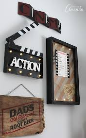 Movie Theater Family Room Makeover Fun Movies Movie Rooms And - Decorating your family room