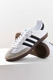 white samba adidas originals samba leather sneaker outfitters