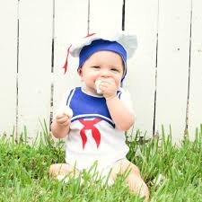 baby u0027s first halloween 82 cute costume ideas stay puft newborn