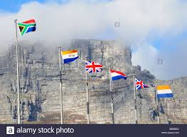 Flags Of African Countries The Five Historical Flags Of South Africa In Chronological Order