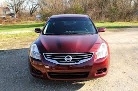 2010 nissan altima red used sedan sale