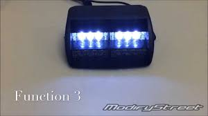 golf cart led strobe lights 18 led tow security golf cart truck 4x4 warning amber white strobe 3