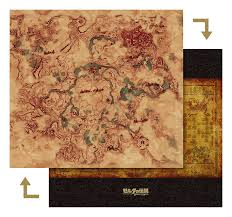 Wind Waker Map Zelda Breath Of The Wild High Quality Hyrule Map Image New