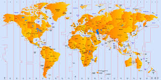 World Map With States by World Map Of Time Zones Printable Printable Maps