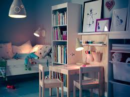 Ikea Kids Table Adjustable Appealing Kids Girls Bedroom With Ikea Design Ideas Combine