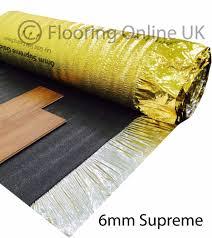 Thermal Underlay For Laminate Flooring Laminate Underlay Ebay