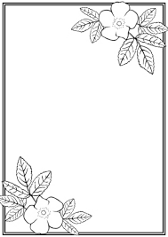 Invitation Card Border Design Top 10 Free Flower Borders To Download Now Unique And Versatile