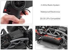 Ford Raptor Nitro Truck - savage xs flux waterproof w ford raptor body u0026 2 4ghz radio