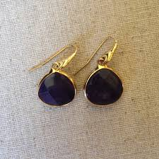 serenity earrings 50 stella dot jewelry serenity earring in navy blue