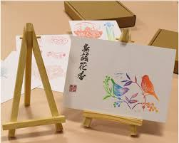 Diy Table Number Holders Wood Easel Wedding Table Number Place Name Card Phone Stand