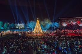 national tree lighting ceremony national christmas tree lighting 2017 hallmark channel