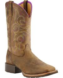 ariats womens boots nz ariat s hybrid rancher boots square toe country