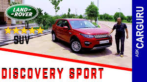 land rover suv price land rover discovery sport action packed carguru review engine
