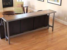 ikea hackers expedit sofa table bar computer desk couch