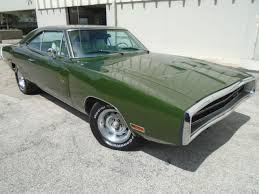 1970 dodge charger green dodge charger hardtop 1970 metallic green for sale