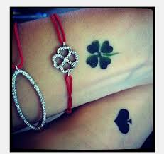 24 lucky irish four leaf clover tattoos designs the wall design 1