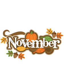 november title svg scrapbook cut file clipart files for