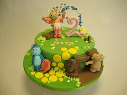 in the night garden cake celebration cakes cakeology