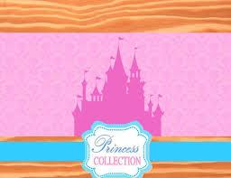 Castle Backdrop Princess Party Backdrop Girls Birthday Party Pink U2013 Krown