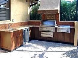 outdoor kitchen faucet garden sink station impressive outdoor kitchen sink station