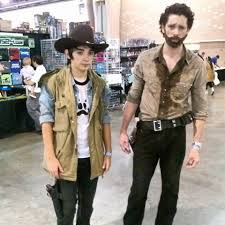 Carl Walking Dead Halloween Costume Wizard Philadelphia 2014 Cosplay 2