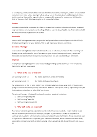 Best Skills For A Resume by Soft Skills Trainer Cover Letter