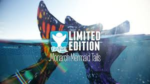 Monarch Design by Fin Fun New Butterfly Mermaid Tails Majestic And Sunburst