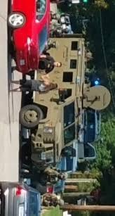 armored vehicles state police shut down hopewell neighborhood