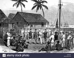 History Of The German Flag Colonialism South Sea Duke Of York Island Raising The German