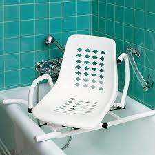 siege baignoire pour handicapé siege de bain pivotant accoudoirs escamotables aménagement du