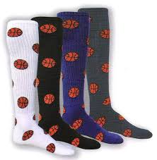 she plays sports inc basketball socks acrylic